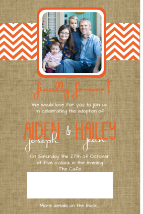 Adoption Invitation